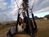 Viaje en globo en Huamantla para pedir matrimonio