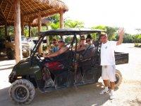 All-terrain vehicles in Playa del Carmen