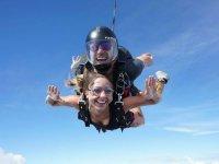 Tandem skydiving in Puebla from CDMX
