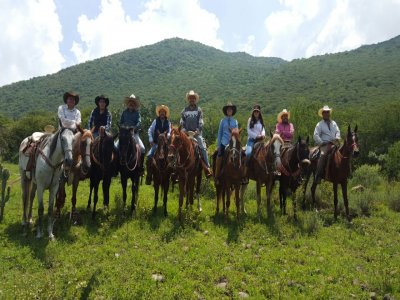 Horse ride through woods, Querétaro, 1 hour