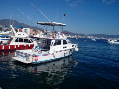 Yatch trip on Acapulco (5 Hours)