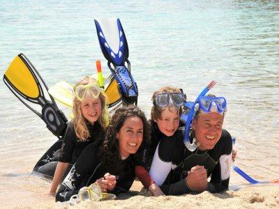 Buceando Mahahual Snorkel