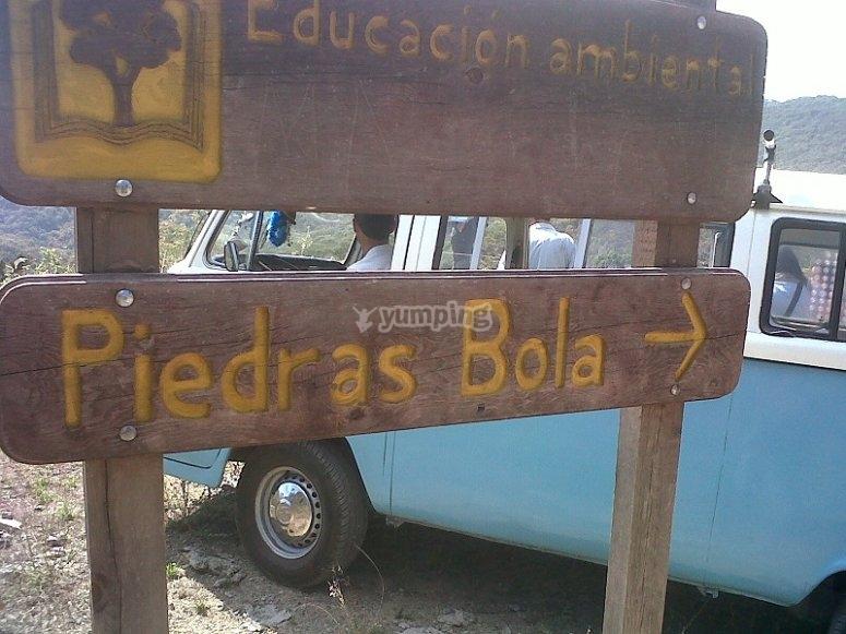 Heading to Piedras Bola