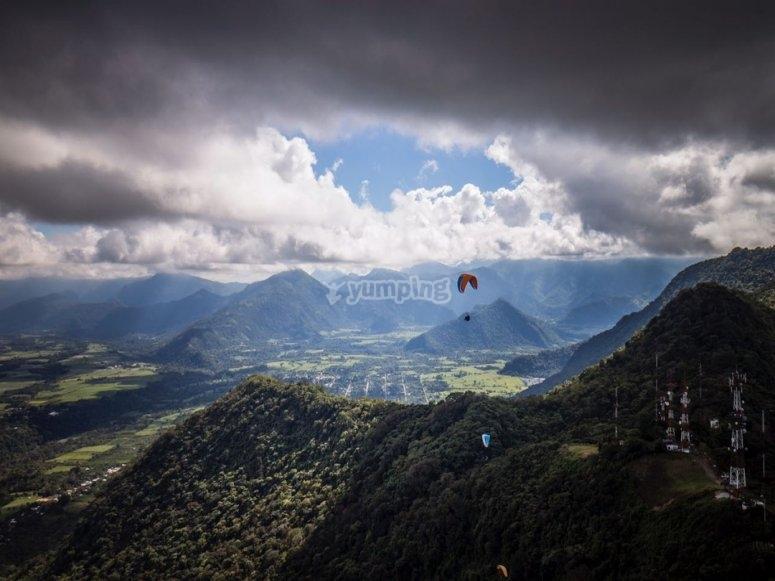 Paragliding in Fortín de las Flores