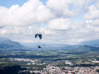 Paragliding Flight + Photos + Video, Veracruz