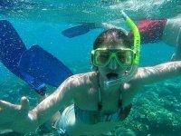 Free snorkeling