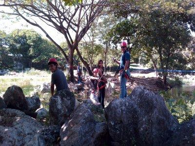 Espeleología en Sabac Ha Mérida con rappel