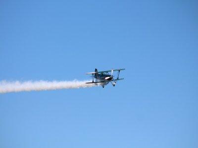 Light aircraft flight, Monterrey, 15th birthday