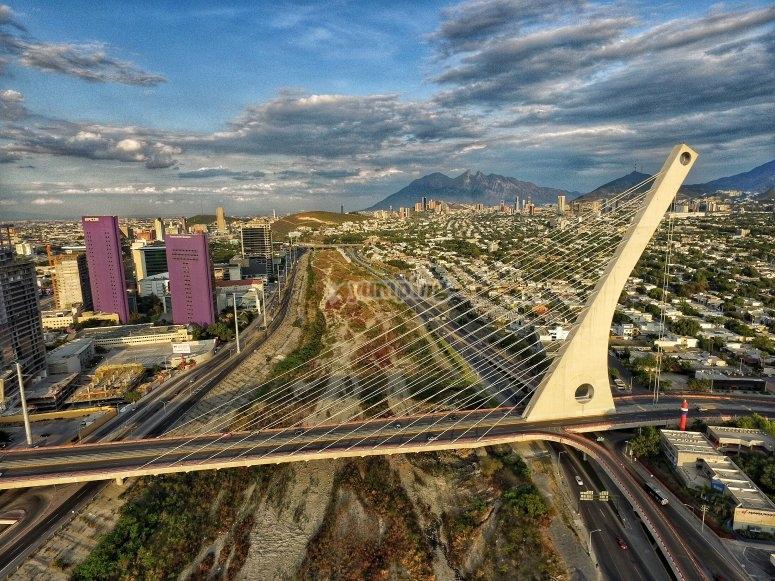 Cable-stayed bridge of Monterrey