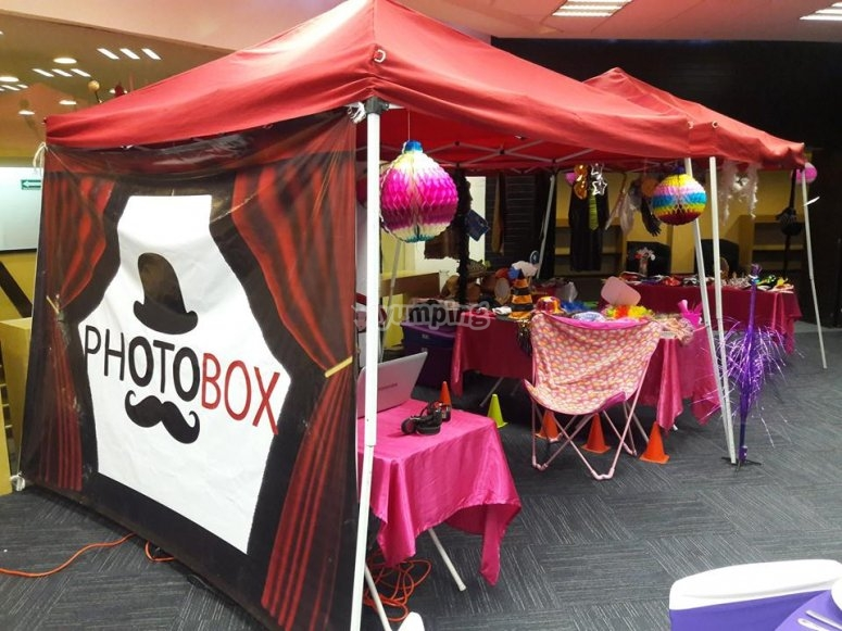 Photo booths for social events