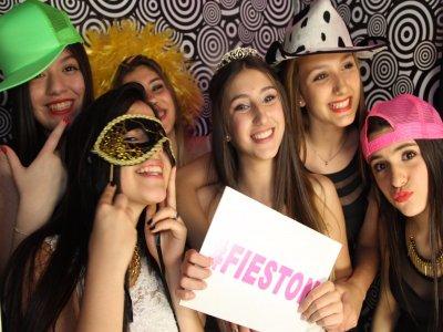 Renta de cabina de fotos para Eventos en Puebla