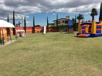 Children's party room rental in Puebla