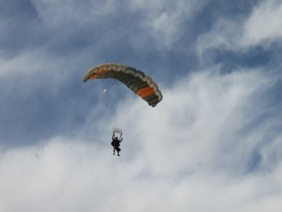 Parachute jump Puerto Peñasco photos and video