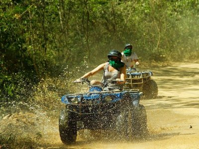 Quad tour in Puerto Vallarta with canopy