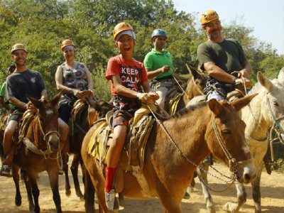 Mule tour in Madre Occidental Mountain