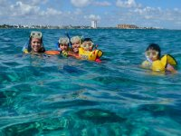 Snorkel en familia