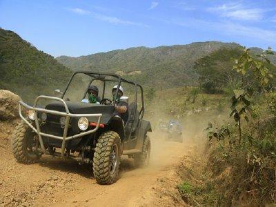 Ruta en buggy y tirolesa en Puerto Vallarta