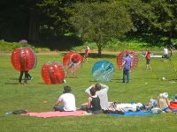 Themed parties with zorbing