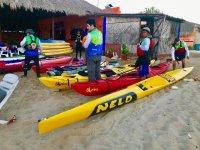 Kayaks in Oaxaca