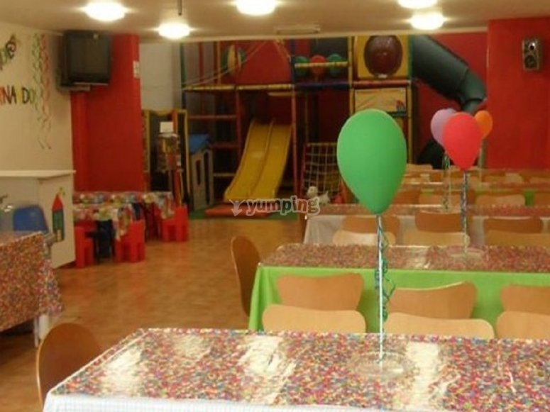 Salon de fiestas infantiles en churubusco
