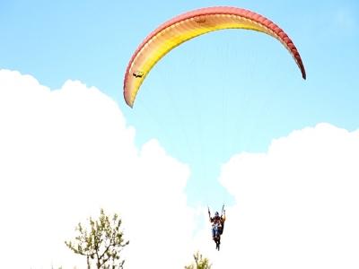 Vuelo en Parapente en Tapalpa con fotos y video