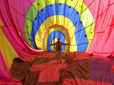 Ballooning Ride for Couples in Tulacingo