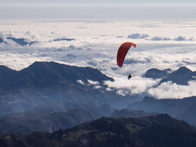 Paragliding Flight in Fortín for 5 People + Video