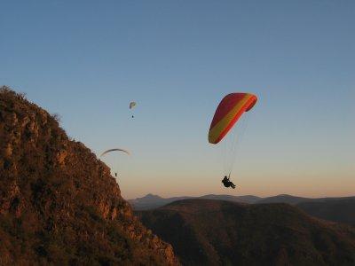 Tandem paragliding in Puebla