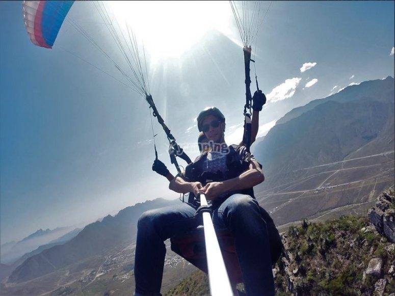 Flying over Monterrey