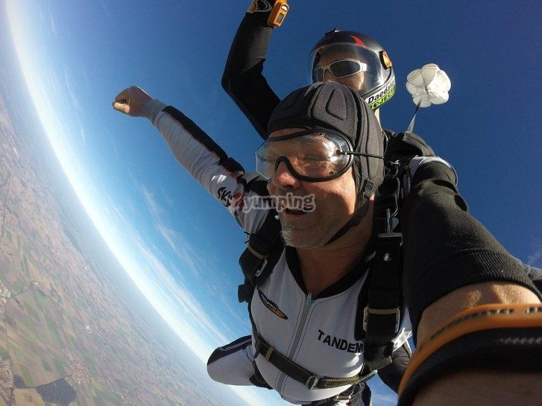 Enjoy the free fall