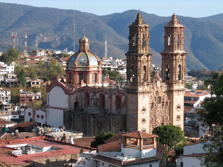 Taxco cathedral