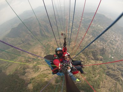 Paragliding + hiking + food Malinalco/Tenancingo