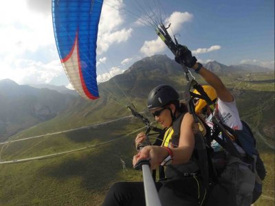 Paragliding trip in Monterrey with accommodation
