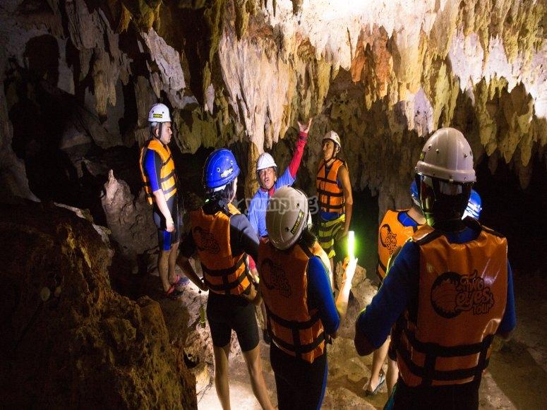 Visita a cenote caverna