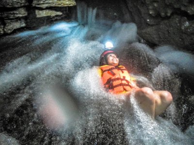 Canyoning + lodging. Cuetzalan.
