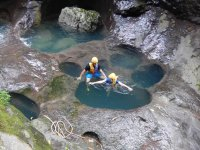 Canyoning in Cuetzlan