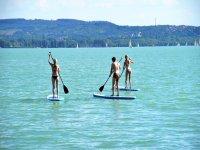Clase de Stand Up Paddle en Veracruz