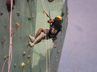 Climbing with rope