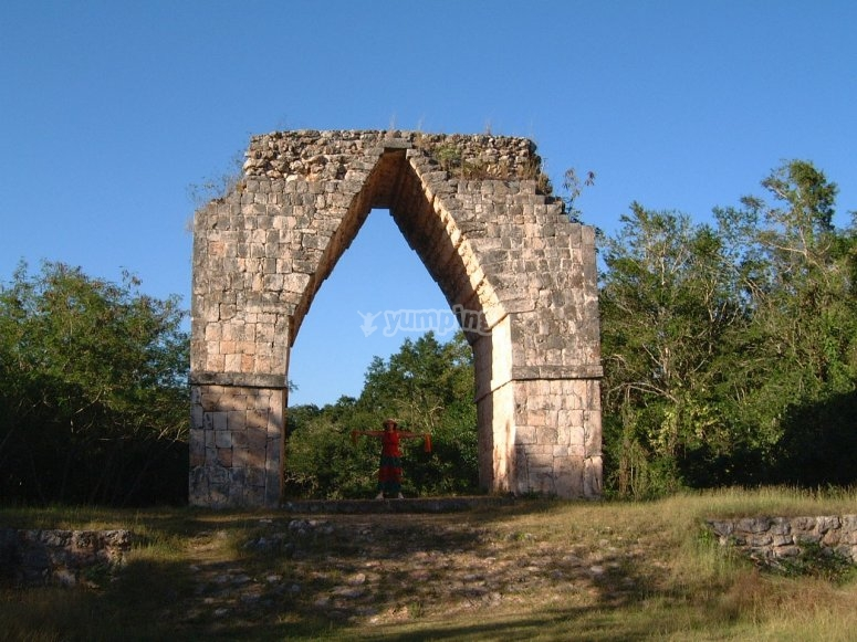 Kabah arch