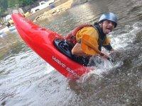 Learning kayak