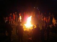 Campfires with children