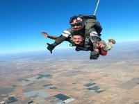 Parachute jump in San Quintin with pictures