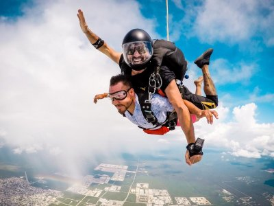 Skydiving in Playa del Carmen + External Video