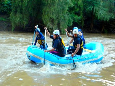 Rafting in Guanajuato with rappel