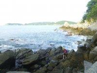 walking on cliffs