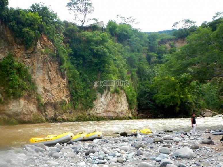 Rafting en guanajuato