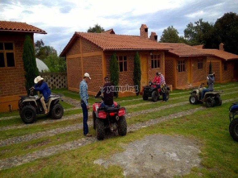 Four-wheeled tour