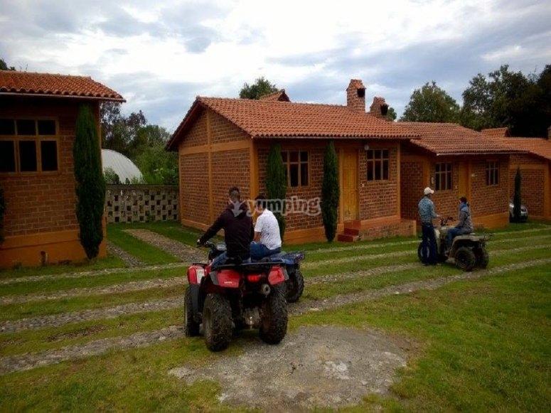 Four-wheeler tour