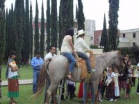 Adult horseback riding