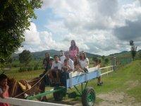 enjoy with the ranchito farm friends